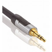 Profigold Stereo Audiokabel 3.5 mm Male - 3.5 mm Male 1.00 m Antraciet