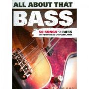 Bosworth All about that Bass Libro de partituras