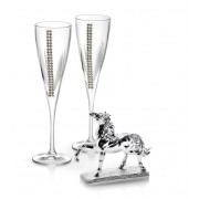 Cadou Champagne Silver Horse by Chinelli Made in Italy