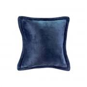 Miliboo Coussin doux bleu 50 x 50 cm FERO