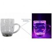 Color Light Mugs Colour Changing Liquid Activated Lights Multi Purpose Use Plastic Mug (250 ml)