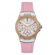 Guess Multifunctioneel Horloge Silicone - Roze multi - Size: T/U