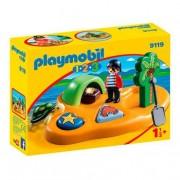 Playmobil 1.2.3 - Isla Pirata - 9119