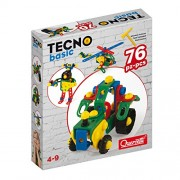 Quercetti Tecno Basic 76 Pcs a Buildable Toy