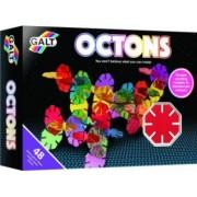 Set de construit Galt Octons 48 piese Multicolor