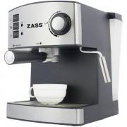 Espressor Zass ZEM04, 850W, 1.6l, 15 bari, argintiu