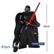 Generic 28 Styles Star Space Wars Han Solo Last Jedi General Grievous Darth Maul Vader Jango Phasma Figures Building Blocks Set Toys Red
