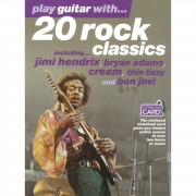 Wise Publications Play guitar with 20 rock class TAB and 2 CDs