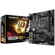 MB Gigabyte GA-AB350M-HD3, AM4, micro ATX, 2x DDR4, AMD B350, S3 4x, VGA, DVI-D, HDMI, 36mj