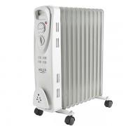 Radiator Calorifer Electric cu Ulei Adler, 11 Elementi, Putere 2500W, Termostat Reglabil si Protectie la Supraincalzire
