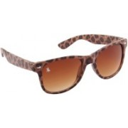 Royal County Of Berkshire Polo Club Wayfarer Sunglasses(Brown)