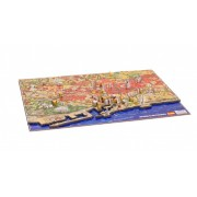 4D Cityscape Barcelona History Time Puzzle