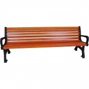 Sitzbank Länge 1700 mm, Gewicht 56 kg Holzlasurfarbton Kiefer