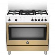 La Germania Ris95c61cwl Cucina 90x60 5 Fuochi A Gas Forno Elettrico Multifunzion
