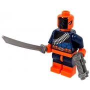 LEGO DC Comics Super Heroes Batman Minifigure - Deathstroke with Sword and Gun (76034)