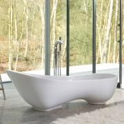 Vasca da bagno freestanding Cabrits 174x56 cm bianco
