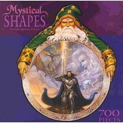 700 Piece Mystical Shapes Puzzle - Wizard Shaped Puzzle