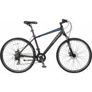 TOTEM Mountainbike Velo Hybrid Disc 28´´ schwarz
