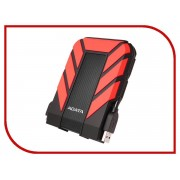 Жесткий диск A-Data DashDrive Durable HD710 Pro 2Tb Black-Red AHD710P-2TU31-CRD