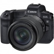 Aparat foto Mirrorless Canon EOS R 30.3 Mpx Kit Black RF 24-105mm f/4-7.1 IS STM