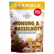 Clean Eating Granola Hasselnöt & Honung 400 g