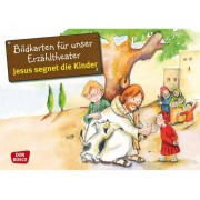 Don Bosco Bildkarten: Jesus segnet die Kinder
