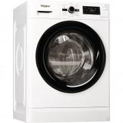 Masina de spalat rufe Whirlpool FWG81484BV EE, 8 kg, 1400 rpm, Display, 6th Sense, Fresh Care+, Motor SenseInverter, Clasa energetica A+++, L 60 cm, Alb
