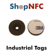 Tag NFC industriali NTAG213 schermati adesivi 29mm