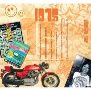 Merkloos Verjaardag CD-kaart met jaartal 1975 - Wenskaarten