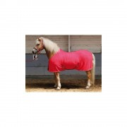 Fleece deken Youngstar Raspberry maat 125 cm