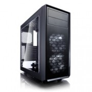 Кутия Fractal Design Focus G, ATX/mATX/ITX, USB 3.0, прозорец, черна, без захранване