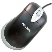 NILOX Mouse Ottico Usb/ps2 Black/silver