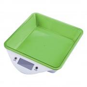 Кухненска дигитална везна ZEPHYR ZP 1651 LS, 5 кг, LCD екран, Включена батерия, Зелена