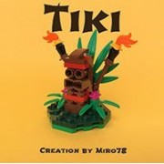 Constructibles Tiki Mini Model Lego Parts & Instructions Kit