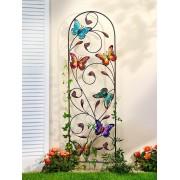 Weltbild Mřížka na popínavé rostliny motýli
