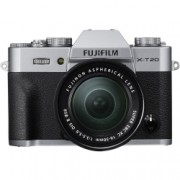 Fujifilm X-T20 kit 16-50mm, Argintiu