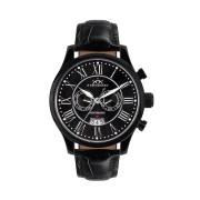 【86%OFF】280-H Open Date PVD black ラウンド ウォッチ ブラック ファッション > 腕時計~~メンズ 腕時計