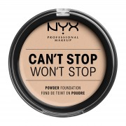 NYX Professional Makeup NYX Professional Makeup Can't Stop Won't Stop Powder Foundation (Various Shades) - Alabaster
