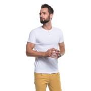 PROMOSTARS Pánské tričko M BUTTON1 21230 - PROMOSTARS černá M
