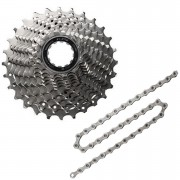 Shimano 105 CS-5800 Bicycle Chain and Cassette - 11 Speed - 12/25