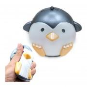 Simulación Penguin Forma Squishy Lento Aumento De Toy Lento Repunte Pearlescent PU Mitigador De La Tension Squeeze Toy (gris)