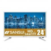 SANSUI Smart TV de 24 Pulgadas LED HD Sistema Android 6.0 SANSUI SMX2419DSMW