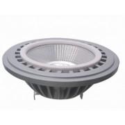 SPOT LED INCASTRAT CROMAT AR111 Ø111X67MM 9W 230V LUMINA RECE