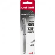 Faber-Castell Aktiengesellschaft Faber-Castell uni-ball Signo Broad UM-153 Gelroller, Gelschreiber geeignet zum Schreiben auf dunklem und farbigem Papier, 1 Stück, silber