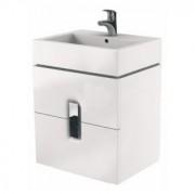 Baza de lavoar Kolo Twins 60 x 57 x 46 cm alb lucios -89492000