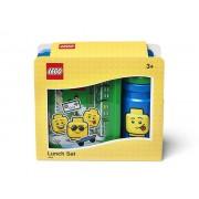 40581724 Set pentru pranz LEGO Iconic albastru-verde