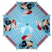 Umbrela automata, Mickey Mouse, albastra