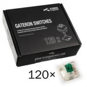 Switch-uri pentru tastatura mecanica Glorious PC Gaming Race Gateron Green (120 buc)