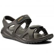Crocs Sandaler CROCS - Swiftwater River Sandal M 203965 Espresso/Black