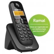 Ramal Telefone Sem Fio ID TS3111 Preto - Intelbras
